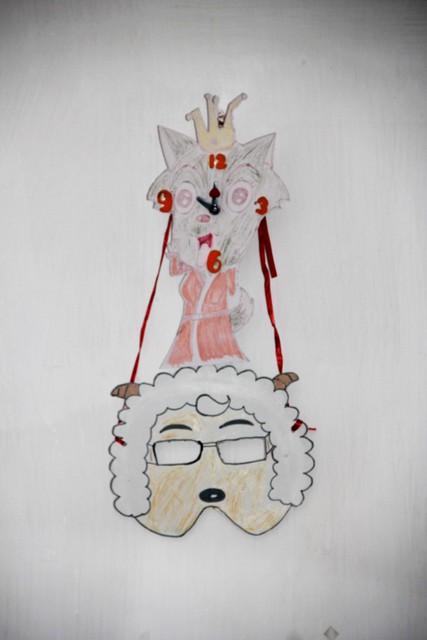 万圣节道具简单做 卡通面具 南瓜灯 青椒灯