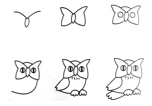学学简单的画画,以后教孩子,很实用图片