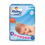 爱婴舒坦Fixies经典系列婴儿纸尿裤NB30片