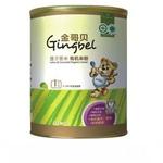 金哥贝1段莲子薏米有机米粉390g/罐