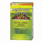 GNC健安喜纯天然超级绿源综合维生素片60粒