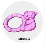 贝美天使MB84-4注水牙胶(小熊型)