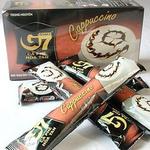 中原G7咖啡卡布奇诺爱尔兰口味咖啡18克*12