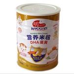 明一α尔法・盾DHA蛋黄营养米粉