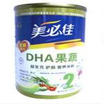 美必佳2段DHA果蔬益生元米粉