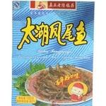 真正老陆稿荐太湖凤尾鱼150g-江苏特产