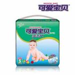可爱宝贝超薄透气婴儿纸尿片S号42片