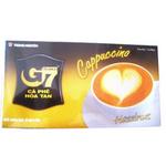 中原G7卡布奇诺榛子味咖啡220g