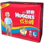 好奇成长裤男宝宝L32片*6包