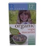 贝拉米婴幼儿有机蔬菜马卡罗尼面
