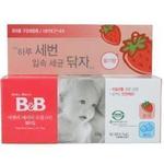 B&B婴儿口腔清洁剂草莓味40g