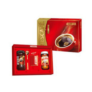 雀巢咖啡醇品+咖啡伴侣中礼盒600g