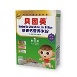 贝因美铁锌钙营养米粉