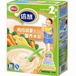 南山倍慧系列2段鸡肉胡萝卜营养米粉225g