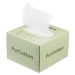 柔软舒适婴儿棉柔巾白色 100抽/盒