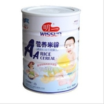 明一AA加锌铁营养米粉