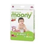 moony婴儿纸尿裤M62片