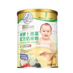 双熊胡萝卜蔬菜配方奶米粉528g/罐