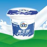 友芝友酸牛奶145g(原味凝固型)