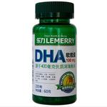 美国乐力DHA软胶囊0.6g*100粒
