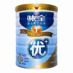 味全优+婴儿配方奶粉1段900g