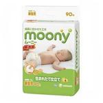 moony婴儿纸尿裤NB90片