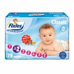 爱婴舒坦Fixies经典系列婴儿纸尿裤S28片