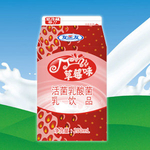 友芝友草莓奶200ml
