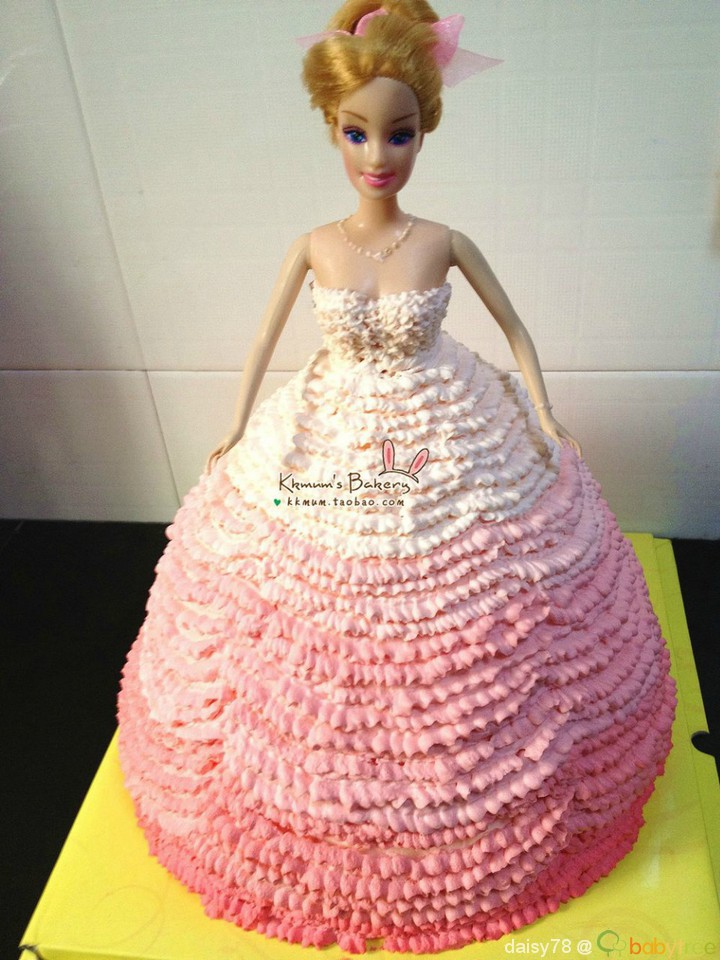 Pin Barbie Custom Decorated Cake Cake on Pinterest