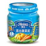 亨氏混合蔬菜113g/瓶