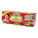 亨氏瓶装系列DHA+AA营养鱼肉谷物套餐(整箱便携装)