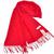 恒源羊绒羊毛加厚保暖男士长围巾礼盒装SFBX180-80单色红色