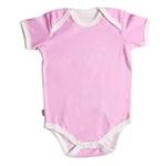 babyglow贝若星体温检测婴儿服粉色内衣3-6个月