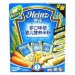亨氏多口味装营养米粉辅食添加初期(200g)
