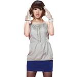 添香防辐射孕妇装防辐射服银纤维低腰节吊带衫88102浅灰XXL
