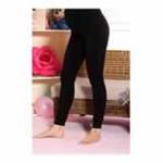 玛维妮超宽腹围拉绒可调节孕妇保暖裤MBP10058/黑色F