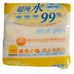 黄色小鸭超纯水婴儿柔湿巾86抽*3连包