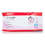 贝亲婴儿乳液湿巾80抽KA29