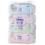 舒洁抽取式纸巾(4包x120抽)