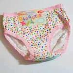 女儿霞童裤两条装(110)
