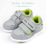 babybubbles婴童鞋156-7002-121灰绿25/165