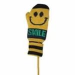 lemonkid笑脸手套黄色