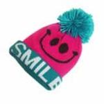 lemonkid笑脸帽子粉色