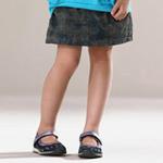 童壹库女童短裙KLCD35203深兰150