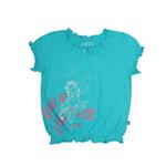 加菲猫女童圆领T恤GTWD35407浅兰130
