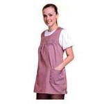 优加百分之五十彩色银纤维防电磁辐射月牙领孕妇裙YF020粉紫XL