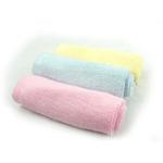 美亲竹纤维小方巾(两条装)起圈100%竹纤维