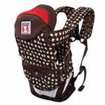 袋鼠仔仔时尚婴儿背袋DS6869咖啡