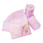 婴妮儿吾啦啦婴儿床品空调被床围12件套/粉色(预付款)