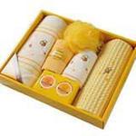 日本内野UCHINO系列小蜜蜂套装毛巾礼盒3